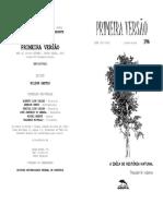 A ideia de história natural - Theodor Adorno