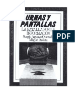 Urnas y Pantallas