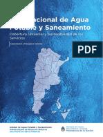 Plan Nacional Agua y Cloaca 2016