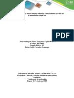 Conocimientos Previos del Proceso de Investigación