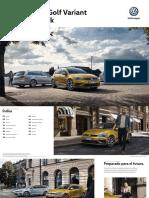 Catalogo Golf VII