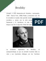 Biografia de Joseph Brodsky