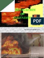 Investigacion de Incendio Ing. Antonio Quisbert