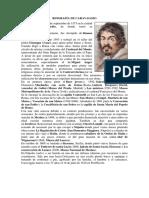 Biografía de Caravaggio