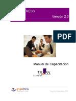 Manual Sistema Tress PDF
