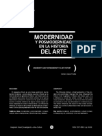 Modernidad y posmodernidad del arte
