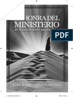 149034122 Juan Radhames Fernandez La Honra Del Ministerio