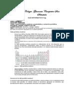 GUIA INFORMATIVA 7° la tabla periodica, el átomo y la tabla periodica