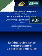 refrigeraciÓn termoquímica