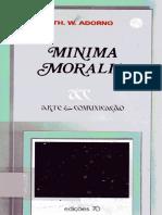 ADORNO, T. Mínima moralia.pdf