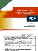 BOMBA DE CIRCULACION EXTRACORPOREA Y BOMBA DE CONTRA.ppt