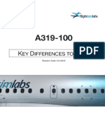A319X Key Differences