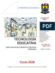 MANUAL Tecnología Educativa