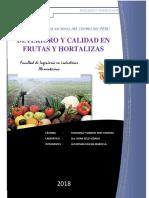 Deterioro en Frutas y Hortalizas