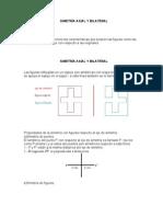 Simetria Axial y Bilateral, Triangulos Cuadrilateros Poligonos Regulares e Irregulares Aplicacion
