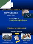 Constitucion de Empresas Oscar Basurco