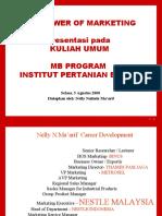Power of Marketing MB IPB