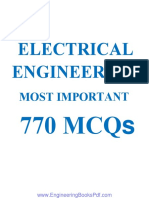 Electrical Engineering Most Important 770 MCQs.pdf