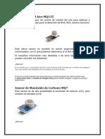 Sensor Mq Maquina Analizadora 2018