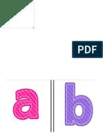 alfabeto minusculo 2018