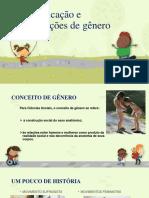 Educação e Relações de Gênero