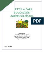 Cartilla para la educacion agroecologica