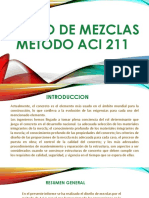 Diseno de Mezclas Metodo Aci 211