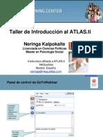 Webinar ATLASti Espanol