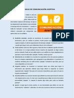 10 Técnicas de Comunicación Asertiva