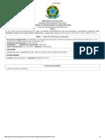 Termo de Homologação CGL UFAM