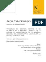 Tesis - Programa de Control Interno y su incidencia en el proceso logístico