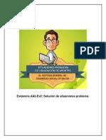 Evidencia AA2-Ev2 Solución de Situaciones Problema