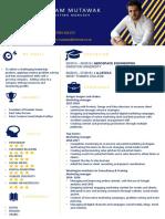 Curriculum Vitae - Adam Mutawak