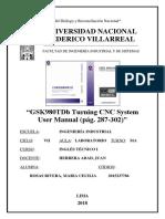 GSK980TDb Turning CNC System User Manual