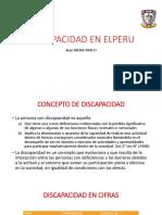 Discapacidad en El Peru