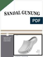 Sandal Untuk Dokter0812.3230.8116