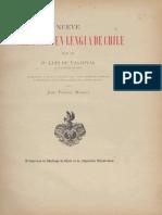9 Sermones, Luis De Valdivia (Reedicion Medina 1897)