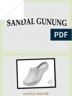 Kualitas tinggi Dokter Sandal , 0812.3230.8116