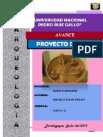 proyecto de tesis arqueología