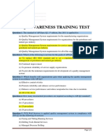 API Q2 Awareness Test (English)