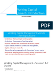 01. Working Capital Management- Introduction_Session 1 & 2