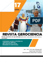 Revista Gerociencia Para Publicacion. Edi Torial Unefm II Volumen