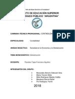 Estructura Del Proyecto de Tesis Para Maestría y Doctorado