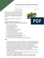 Lawebdelingles.com-Passive- Ejercicio Para Practicar Las Distintas Formas de Passive