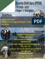 Banner PPDB 2018
