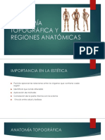 Anatomía Topográfica y Regiones Anatómicas