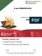 05 - Linked List Variation - Double Linked List