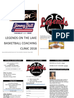 The Legends Clinic on the Lake 2018