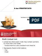 07 - Linked List Variation - Multi Linked List
