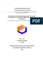 Cover Laporan KP Rotary Dryer